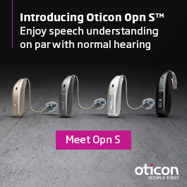 Meet OPN S hearing aids: Enjoy speech understanding on par with normal hearing