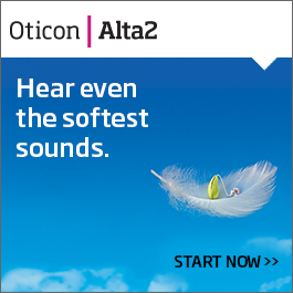 Hear even the softest sounds (ad for Alta 2)
