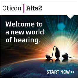 Welcome to a new world of hearing (ad for Alta2)
