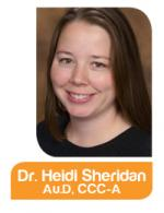 Photo of Heidi Sheridan, AuD, CCC-A from Northern Hearing Services Inc - Anchorage