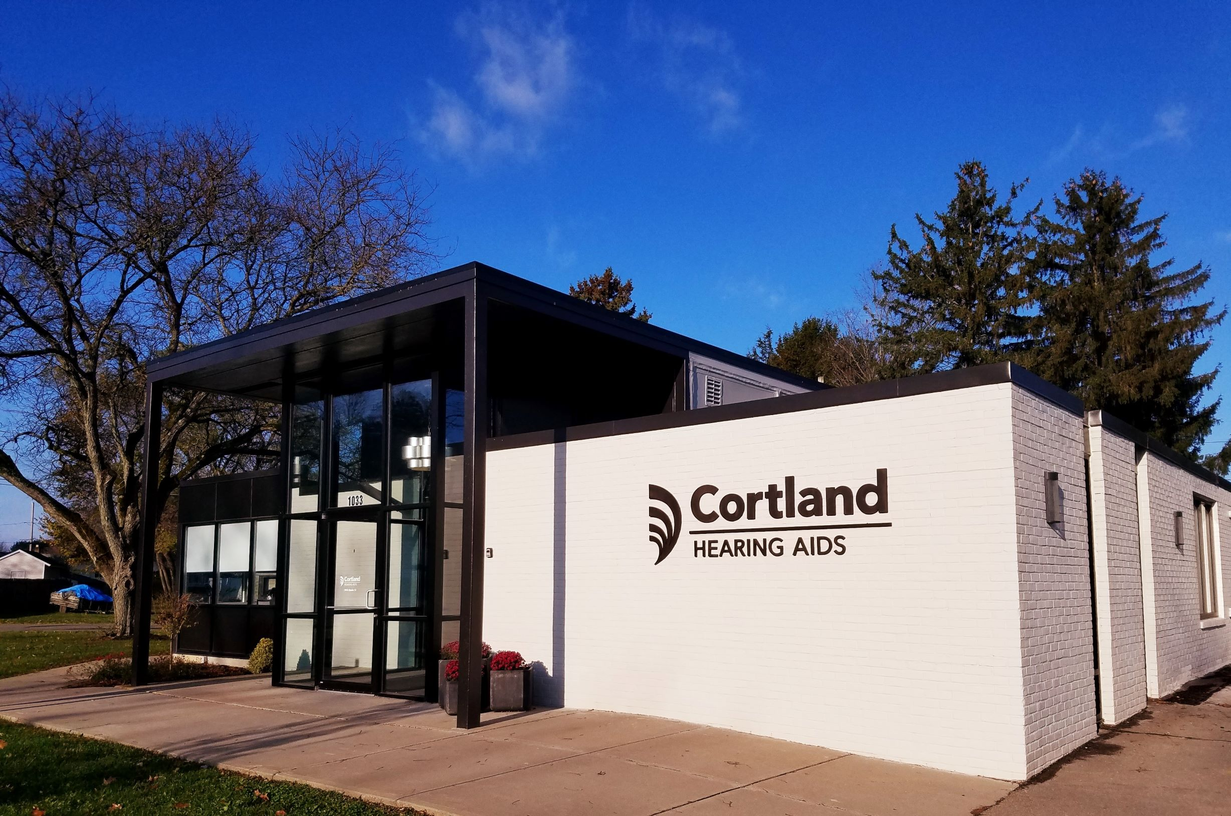 Exterior of Cortland Hearing Aids