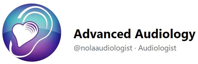 Nola Aronson's Advanced Audiology logo