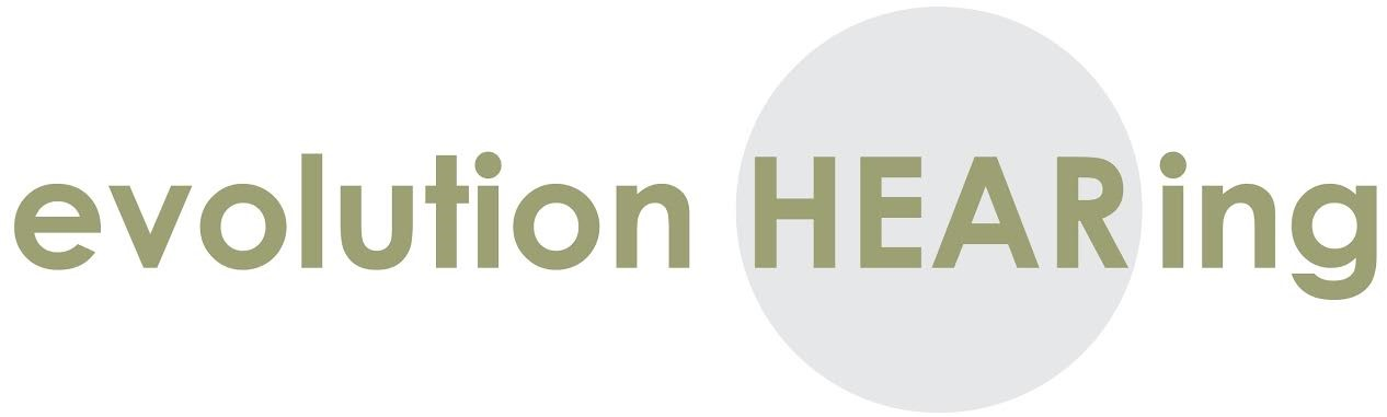 Evolution Hearing - Raleigh logo