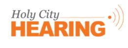 Holy City Hearing - Mount Pleasant logo
