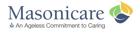 Masonicare Hearing Center logo