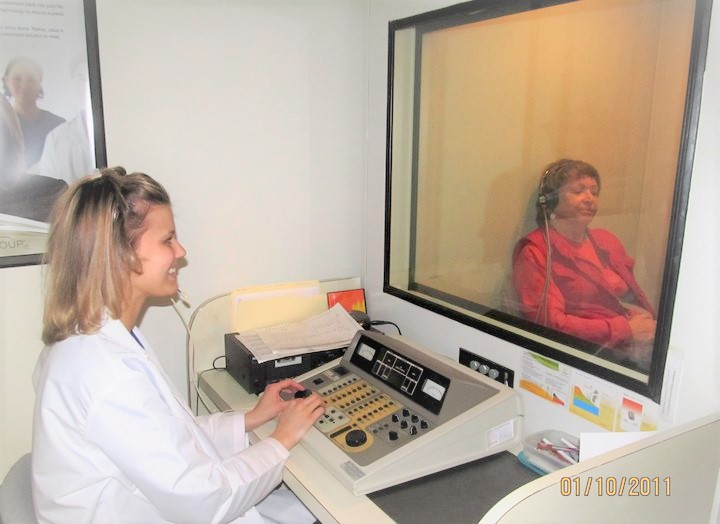 When was your last hearing test? It's important to have an annual test to monitor your health.