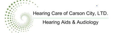 Hearing Care of Carson City logo
