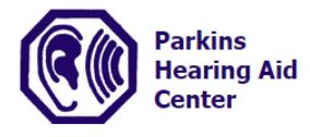 Parkins Hearing Aid Center logo
