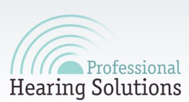 Professional Hearing Solutions logo