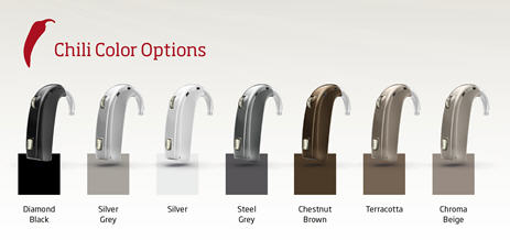 Oticon Chili Hearing Aids