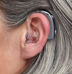 Hearing aid with an earmold