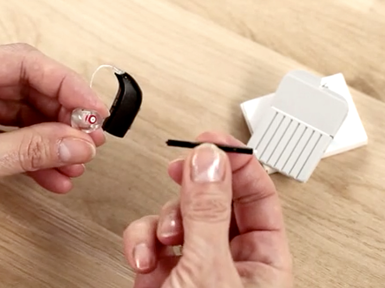 Learn how to clean your hearing aids
