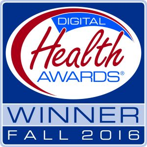 Digital Health Awards fall 2016 logo