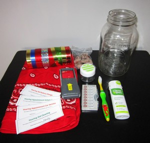 ideas for hearing aid emergency kits