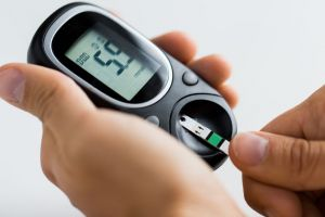 diabetes blood glucose meter