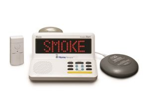 Home Aware's smoke detector alerting device