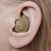 full shell low-profile hearing aid