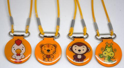 fun animal themed clips for keeping hearing aids in place