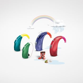 Different colors of Phonak Sky hearing aids