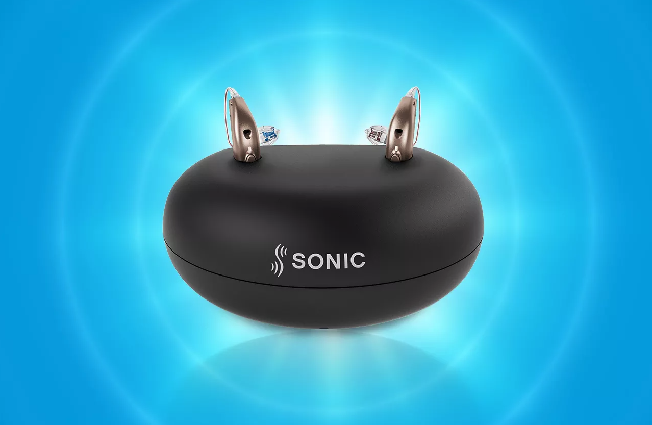 Sonic's Captivate hearing aids