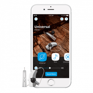 Widex EVOKE hearing aids and app