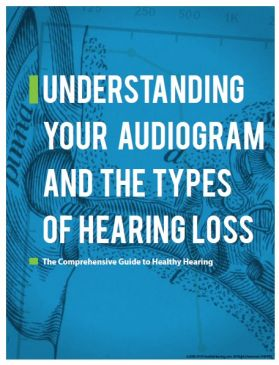 Free Healthy Hearing guide provides information on audiograms and types of hearing loss
