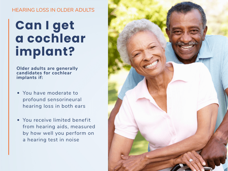 Illustration explaining cochlear implant candidacy