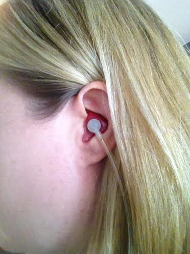 wearing hearing aids