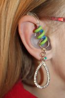Hearing aid charms accessorize your devices.