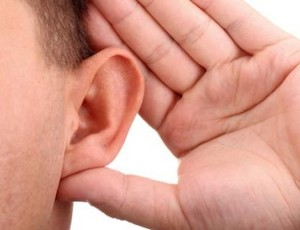 There are several strategies to help communicate with a hearing-impaired person.