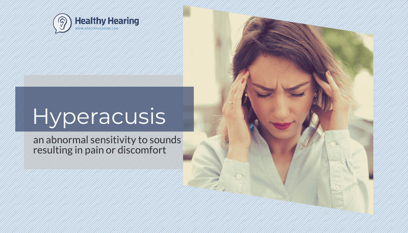 hyperacusis - woman holding her ears