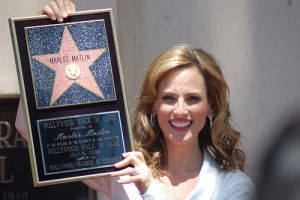 Marlee Matlin, famous deaf invididuals, deaf history month