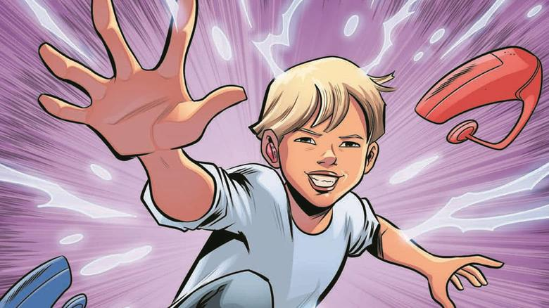 Braden Baker as a Marvel Comic