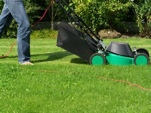lawn mowing and hearing loss