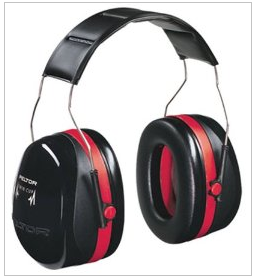 hearing protection with ear muffs
