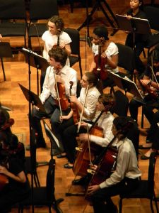 Studies show orchestra members are at risk for hearing loss