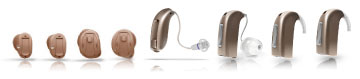 hearing aids, bte, ite, canal, hearing aid types, hearing aid features