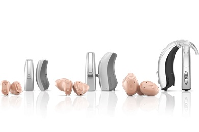 Family of hearing aids made by Widex